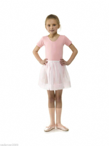 Tappers and Pointers Voile Ballet Dance Skirt RAD Exam Regulation Uniform Pink